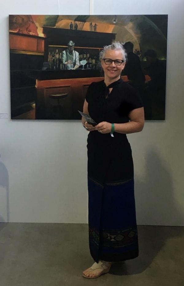 Expositie 'Zien is meer dan kijken alleen' in de Bibliotheek in Lisse