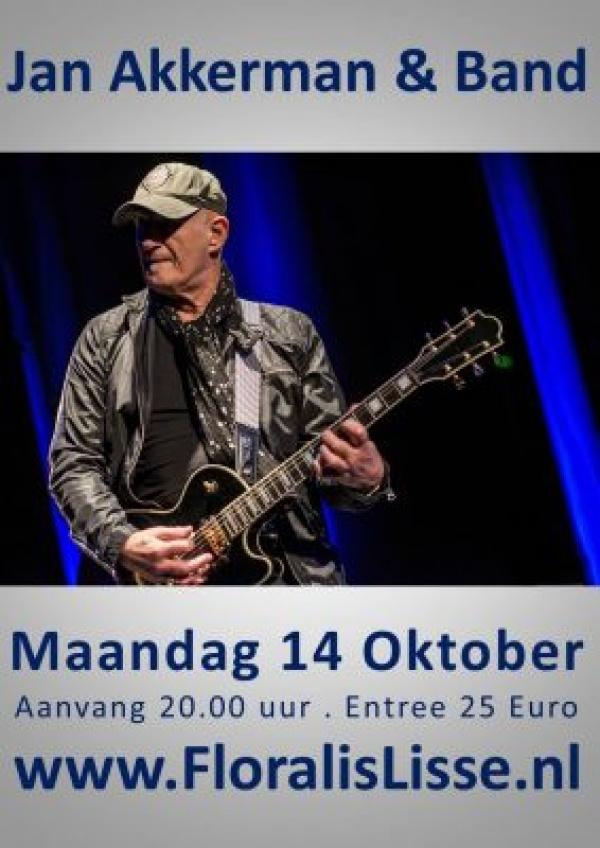 Theater Floralis presenteert Jan Akkerman & Band