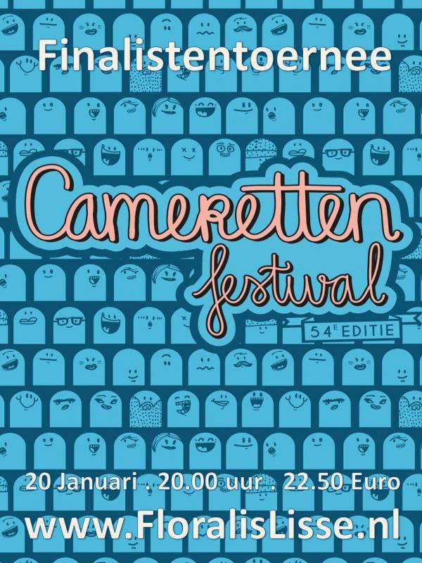 Theater Floralis presenteert Finalistentournee Cameretten Festival