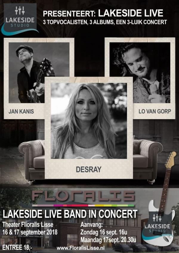 Lakeside Live met Lo van Gorp, Desray en Jan Kanis
