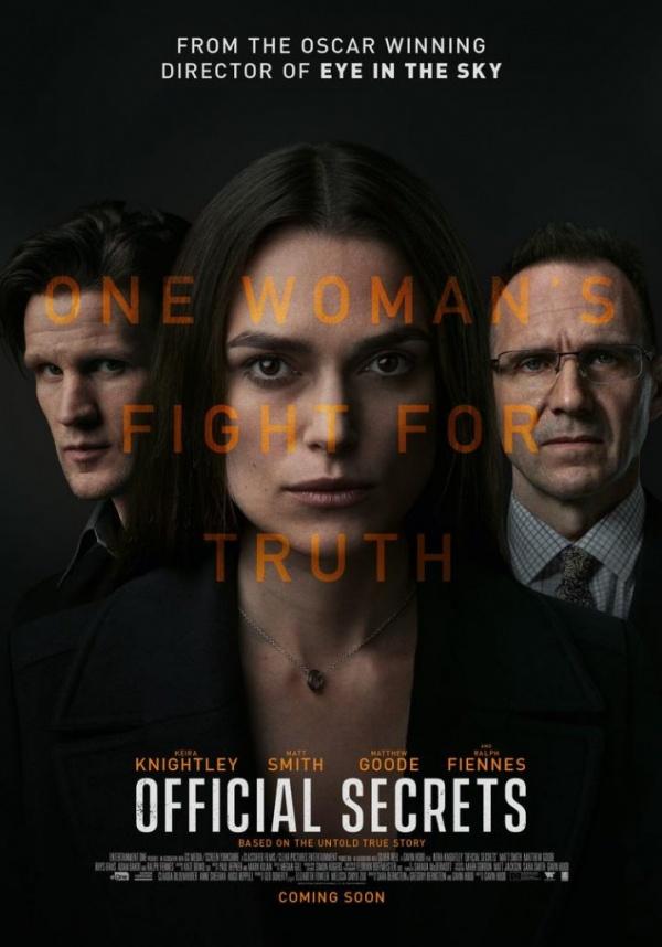 Filmhuis presenteert Official Secrets
