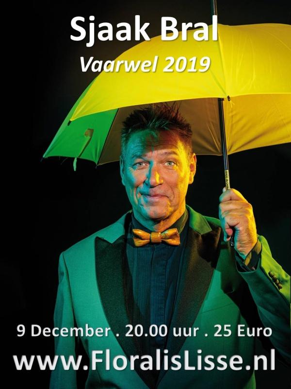 Theater Floralis presenteert  Sjaak Bral - Vaarwel 2019