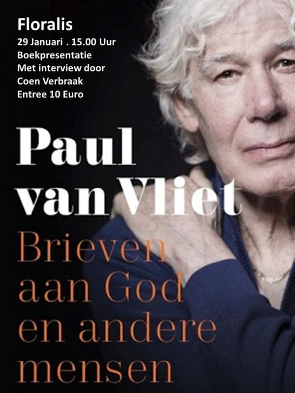 Theater Floralis en Grimbergen boeken presenteren de laatste dinsdag met Paul van Vliet