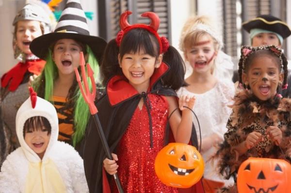 Halloween in Dorpshart Lisse