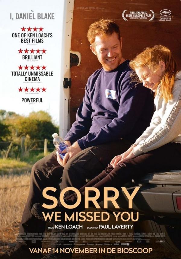 Filmhuis Lisse presenteert Sorry we missed you