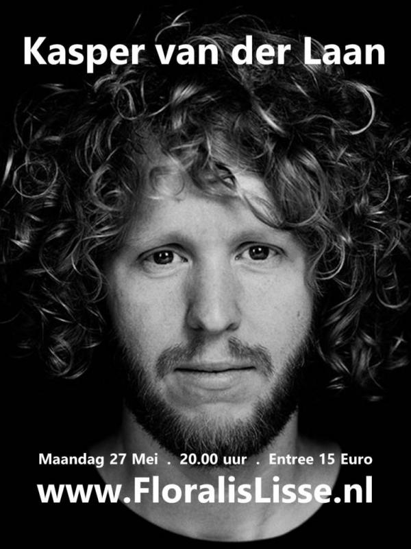 Theater Floralis presenteert Kasper van der Laan