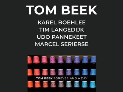 Albumpresentatie van saxofonist Tom Beek in Theater Floralis