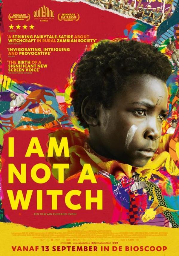 Filmhuis Lisse presenteert I am not a Witch