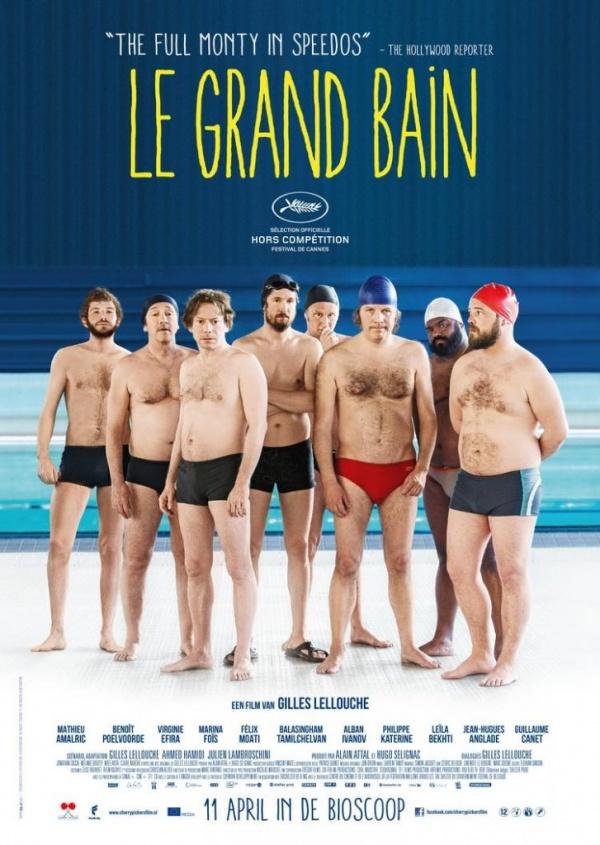 Filmhuis Lisse presenteert Le Grand Bain